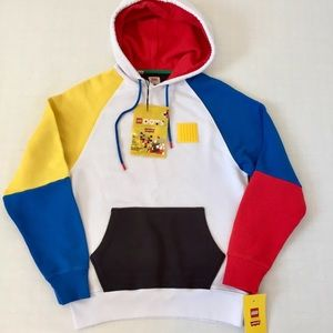 Lego Group x  Limited Levi's Colorblock Hoodie XS